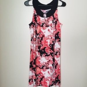 Pink Flower Kim Rogers Dress